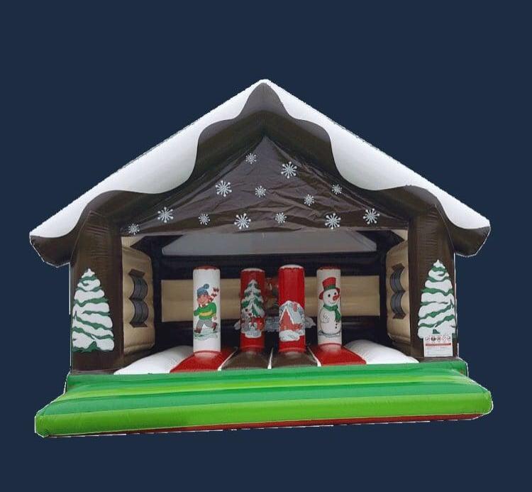 chalet de Noël gonflable