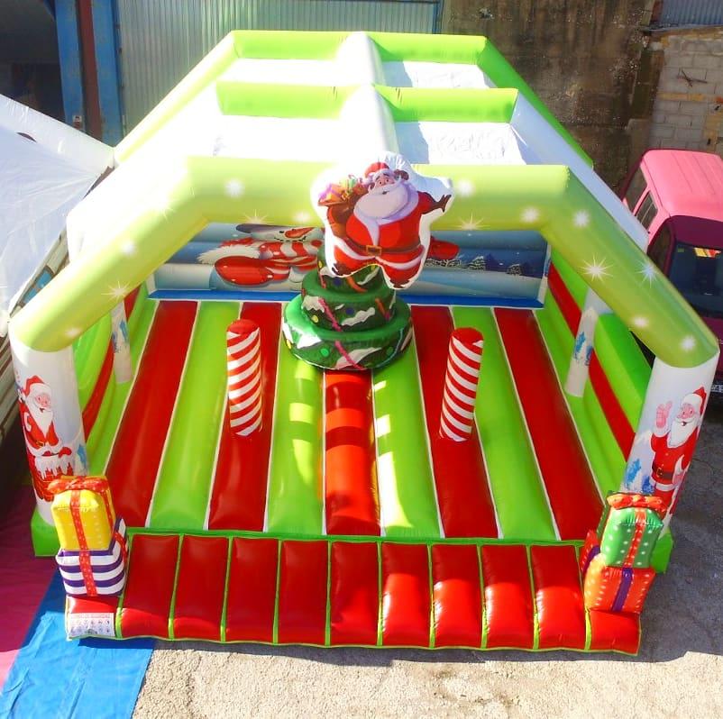 maison du père Noël gonflable
