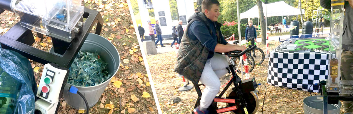 vélo broyeur